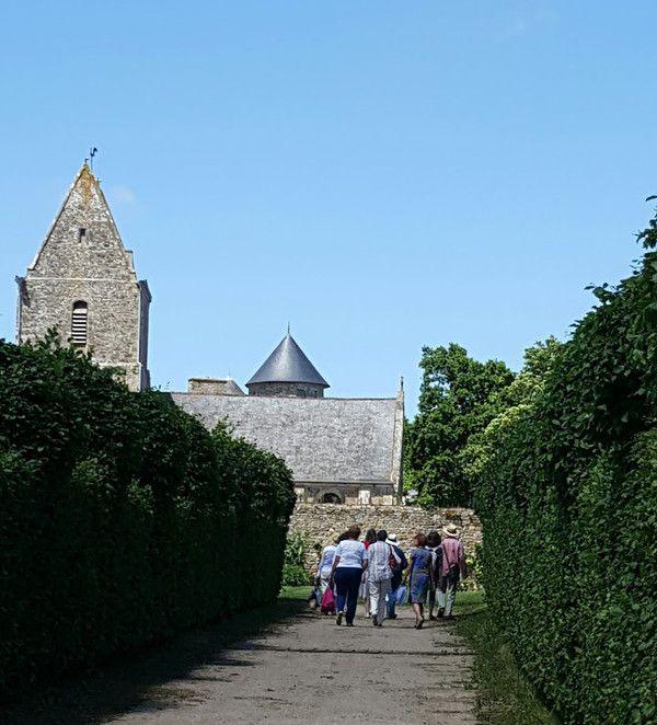 Alerv visite du jardin d 39 etienville for Jardins a visiter